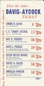 Davis Aycock Ticket