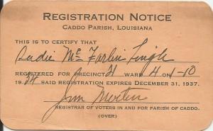 Jim Martin Reg Card
